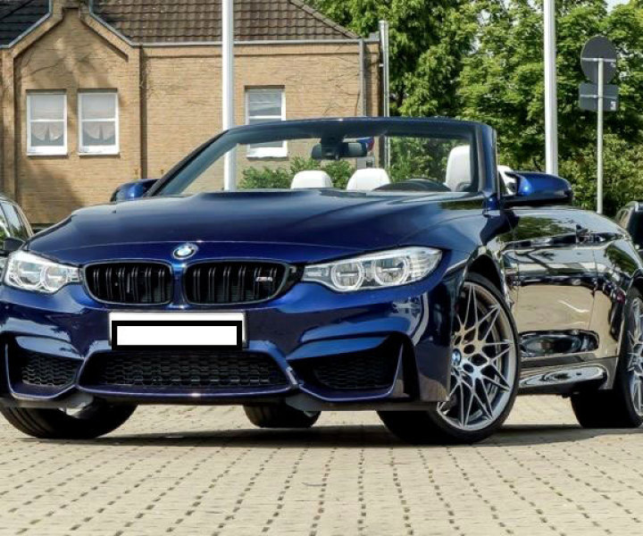 Autos Import - BMW M4 Cabriolet